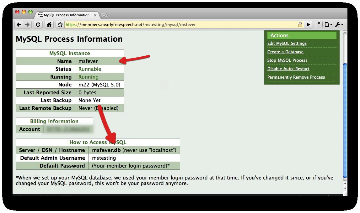 Gathering MySQL Process Info