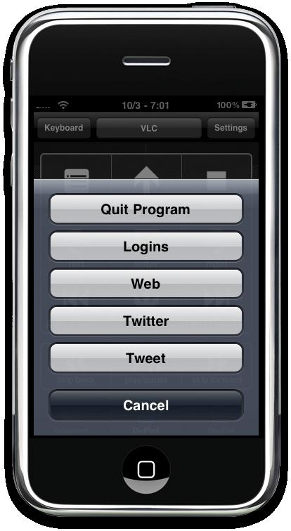 HippoRemote iPhone App