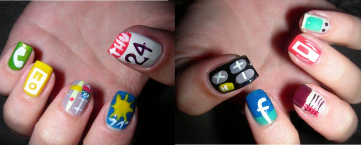 Can Somebody Please Explain This Iphone Nail Art To Me Macstories